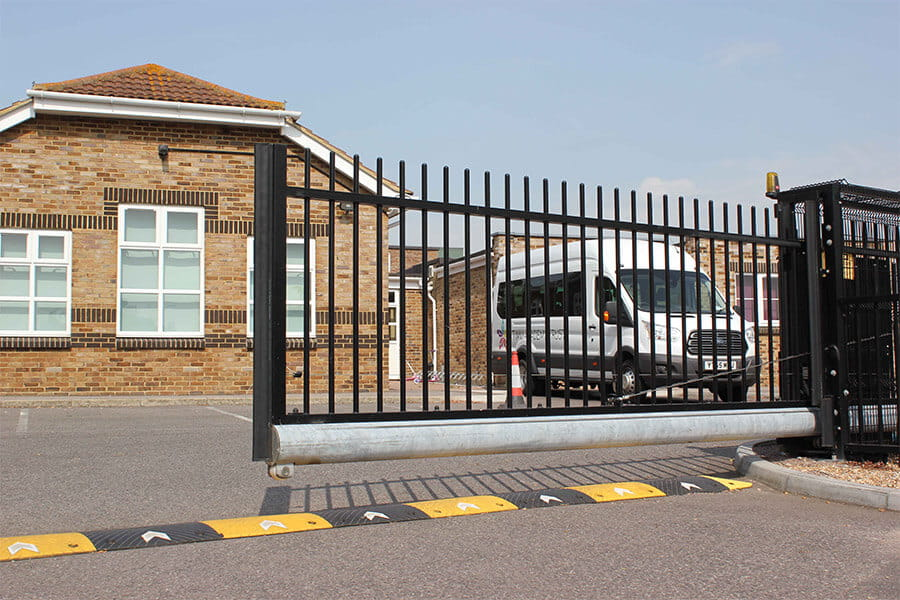 Automatic school gate