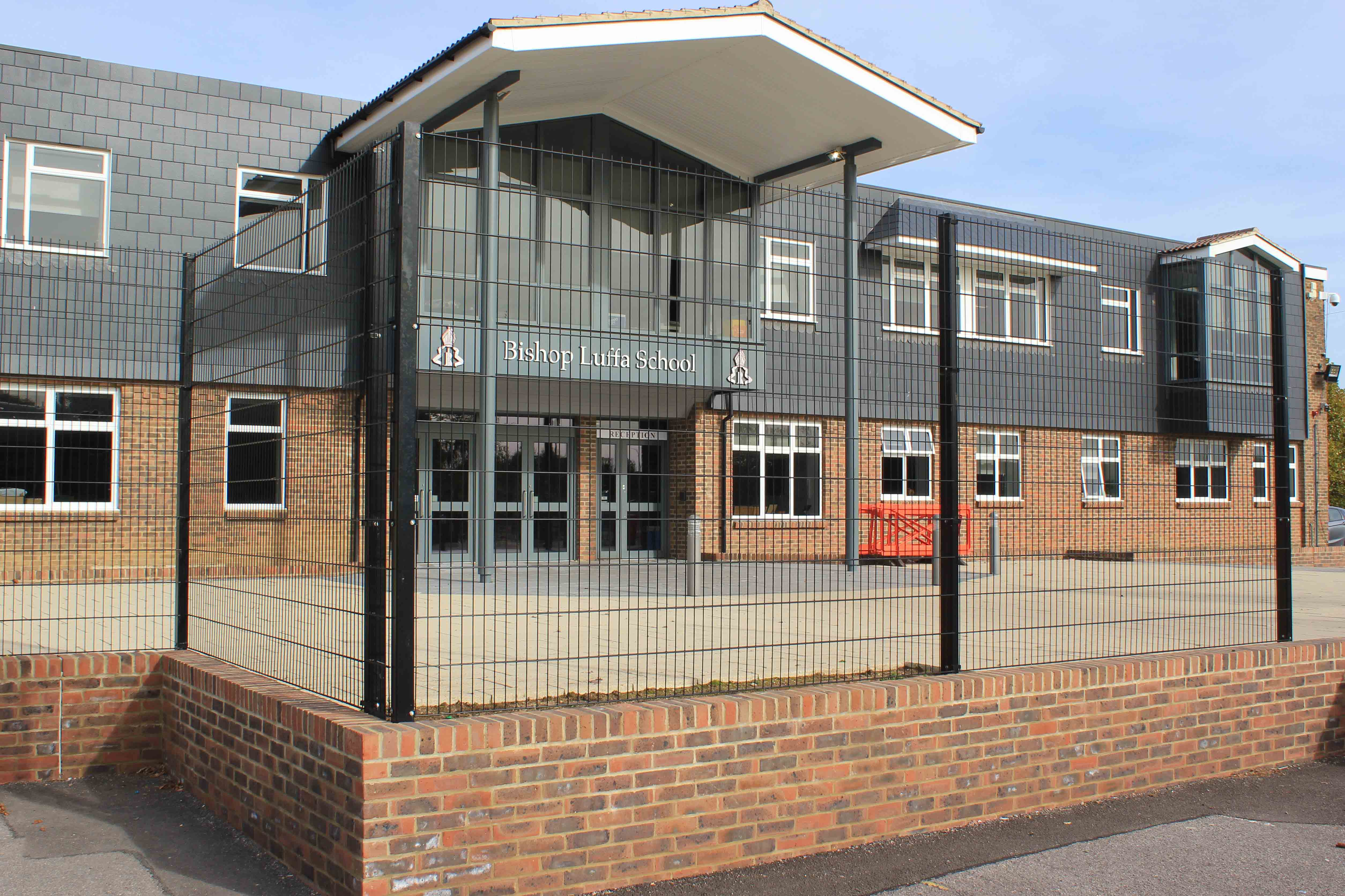 School boundary fencing