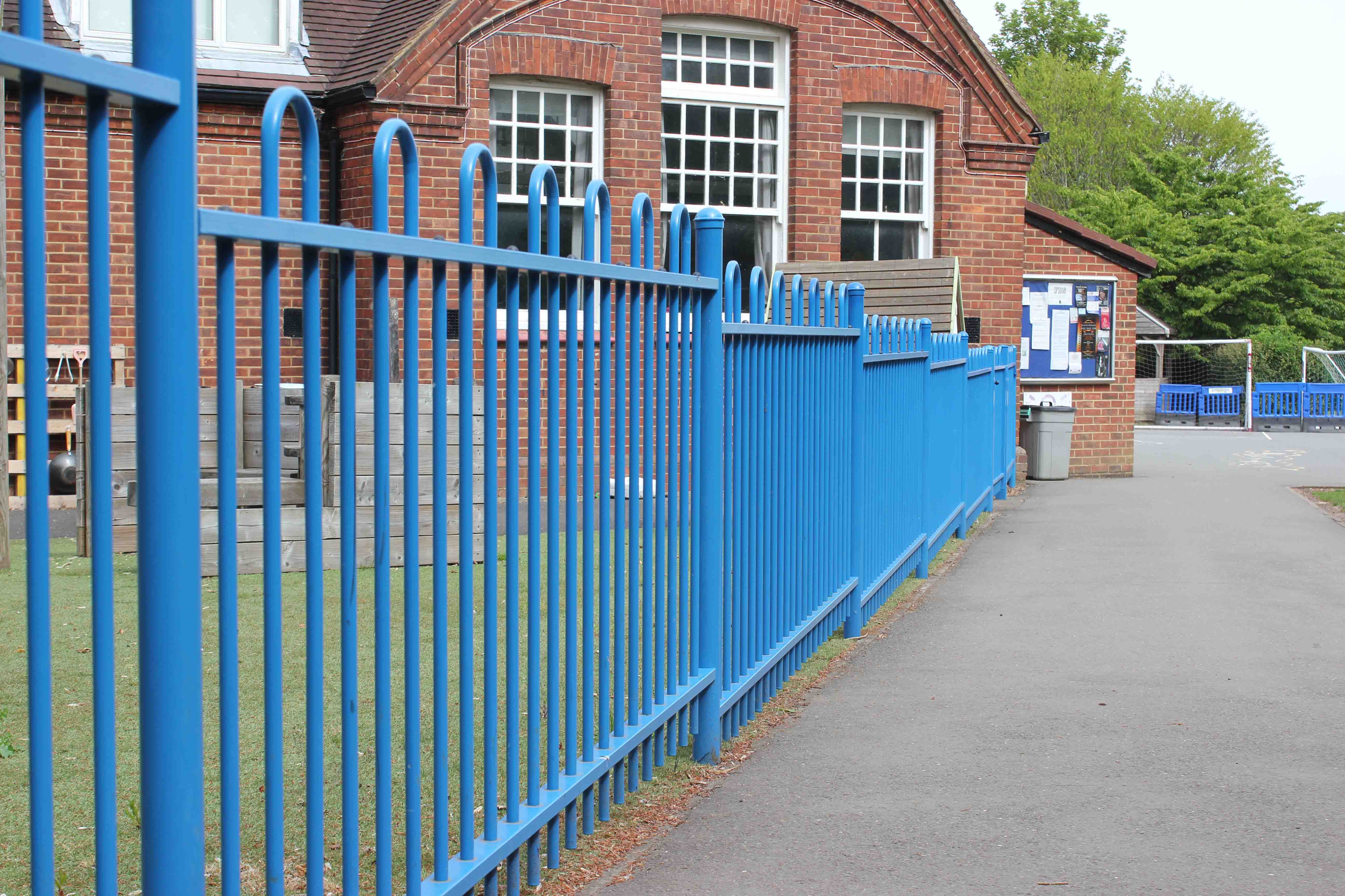 School fencing and gates