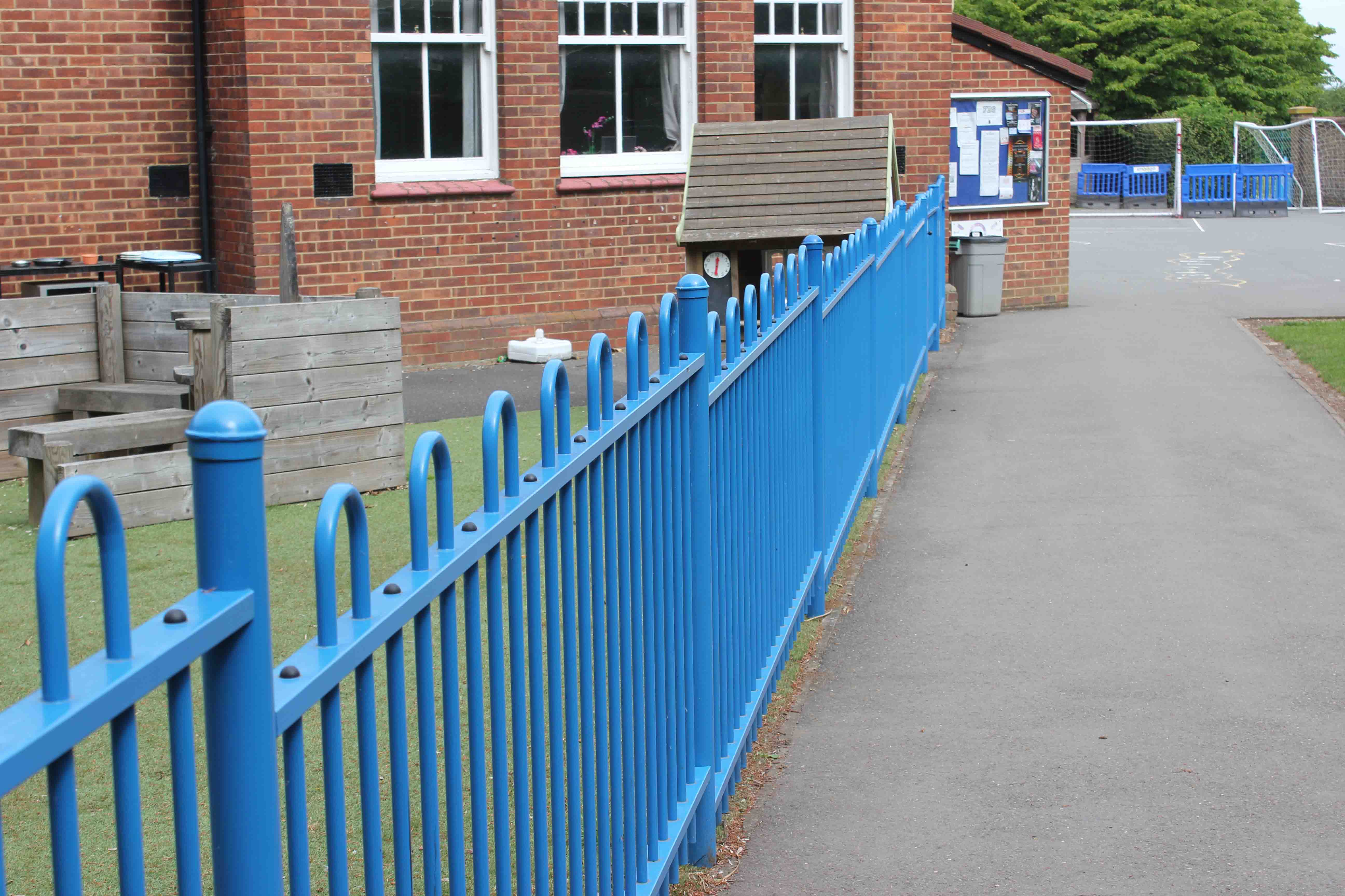 School safety fencing