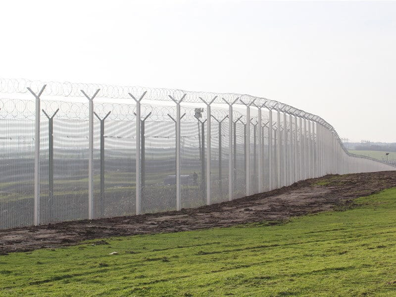 358 Securi Mesh Fencing at Eurotunnel