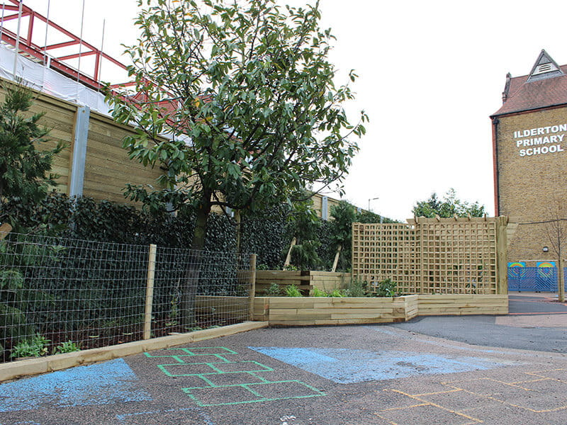 Noise barriers for schools