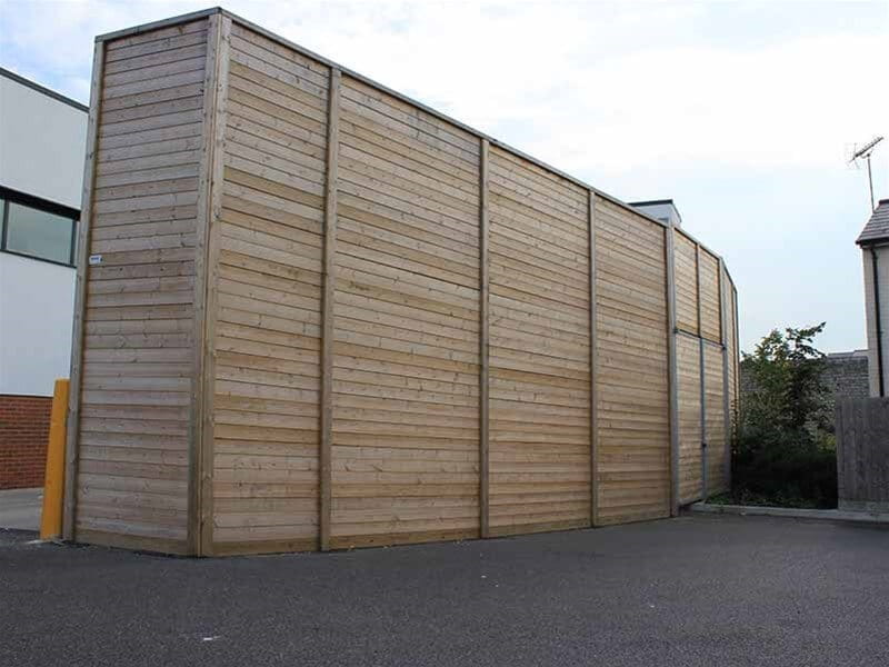 Jakoustic Absorptive Fencing
