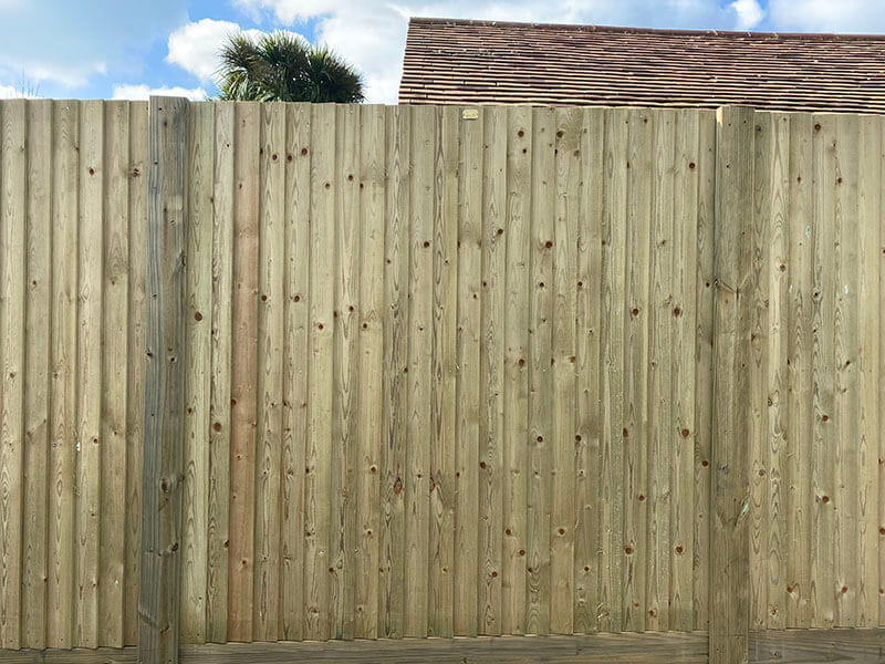 Fencing for business premises