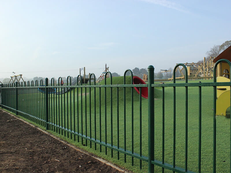 Play ground fencing