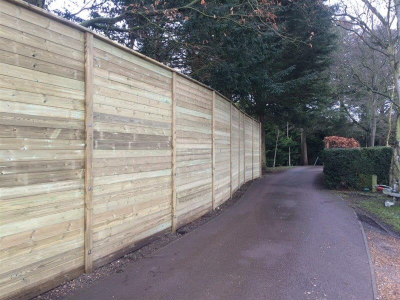 Acoustic Reflective Fencing