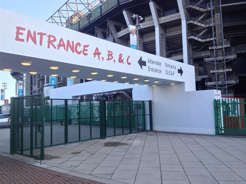 Twickenham Stadium Fencing