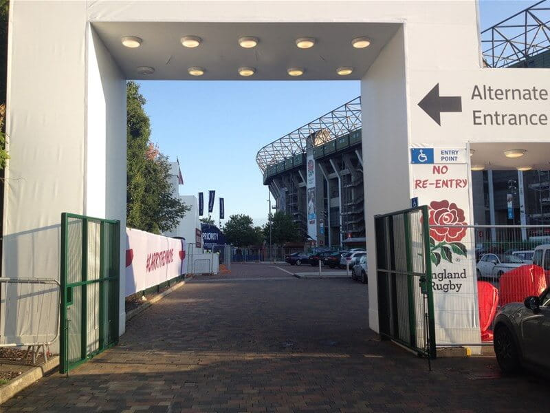 Twickenham Stadium Gates