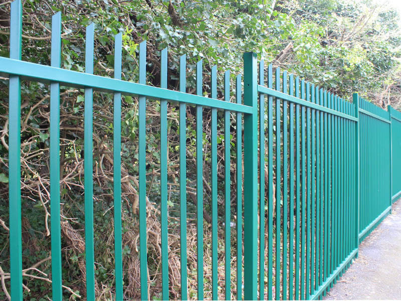 Perimeter security fencing