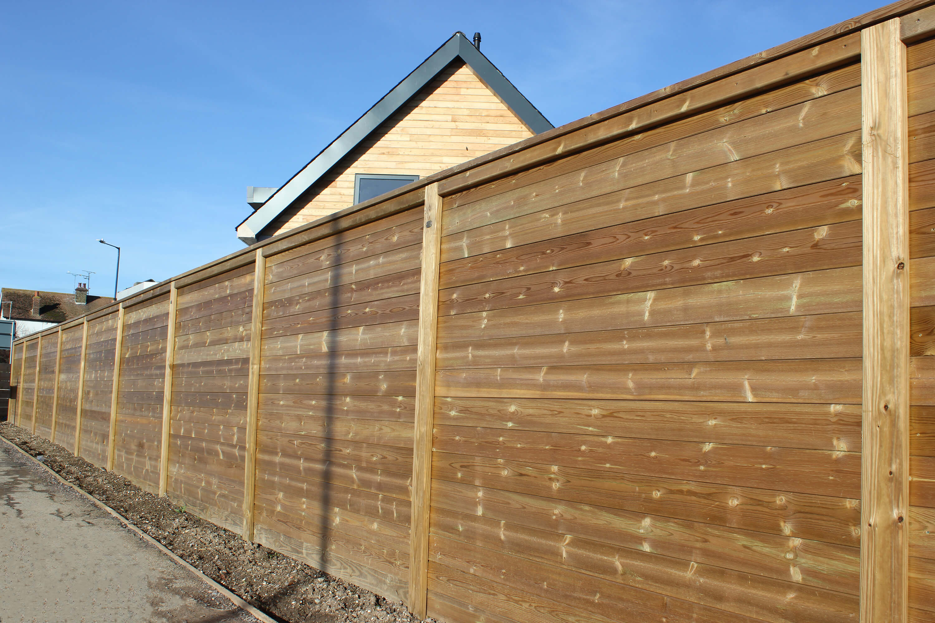 Sound proof fencing