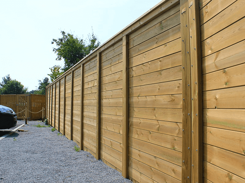12k Envirofence - Timber Acoustic Fencing