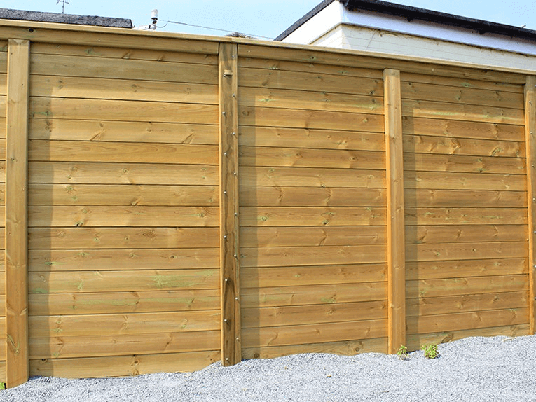 12k Envirofence Timber Acoustic Fence