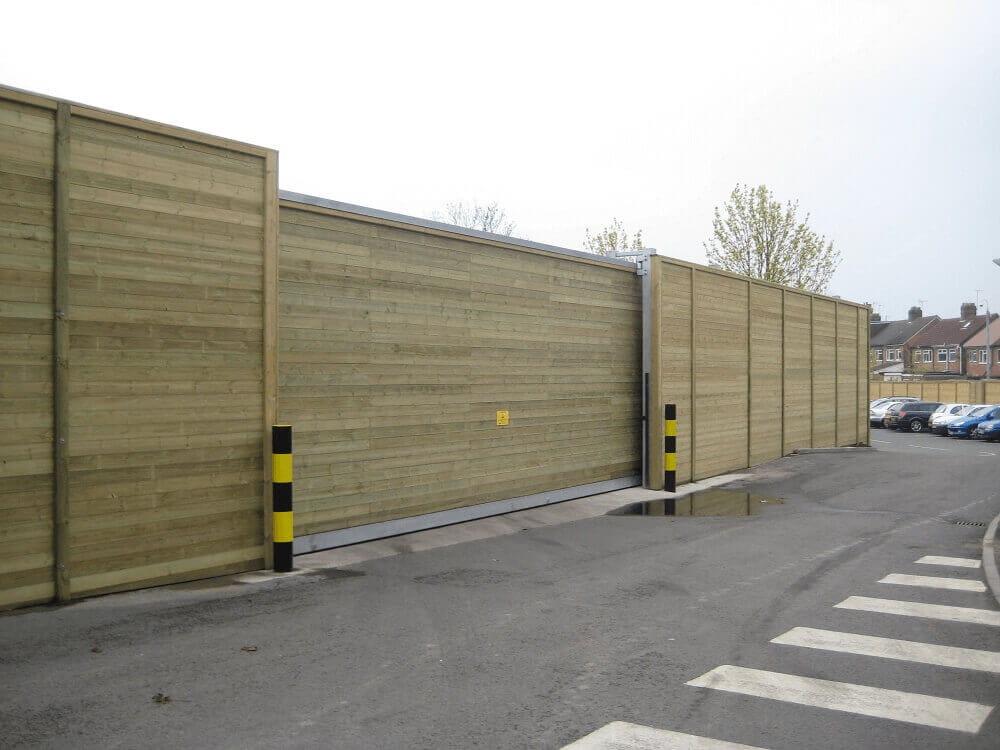 Timber Acoustic Gate