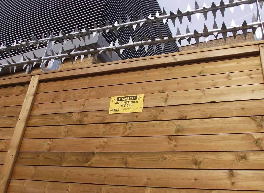 High Security Acoustic Fencing