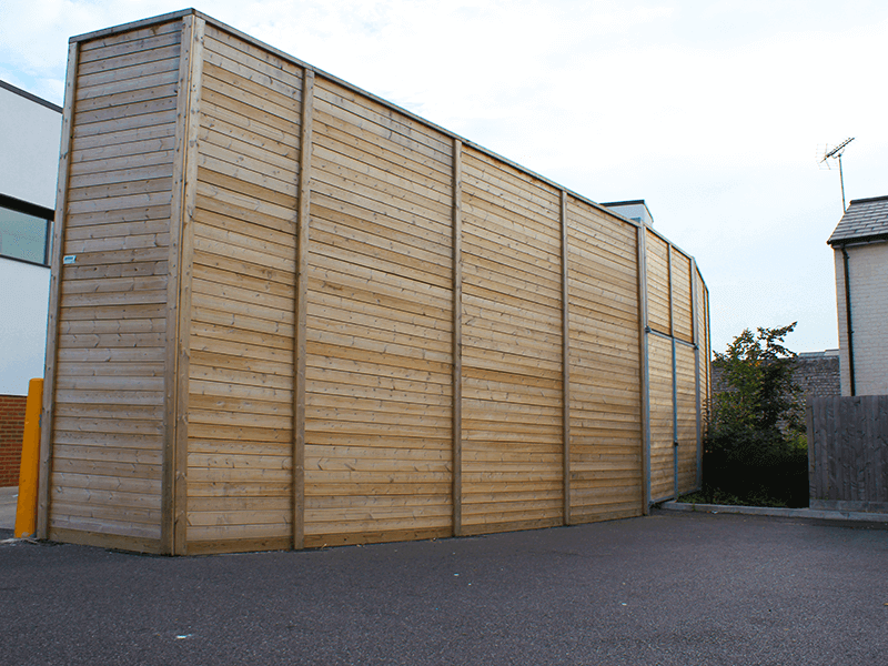 Jakoustic Absorptive Acoustic Fence