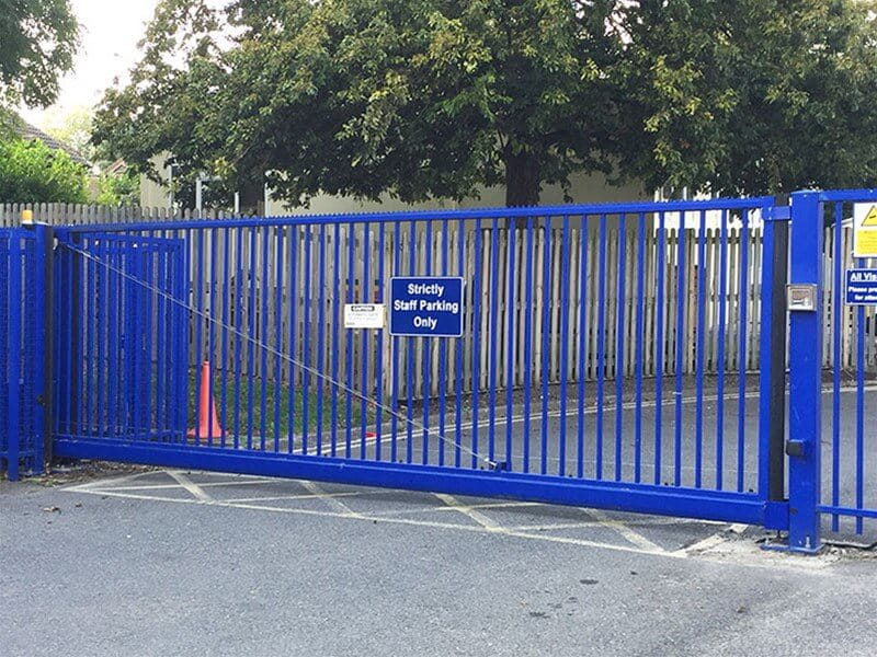 Automated school gate
