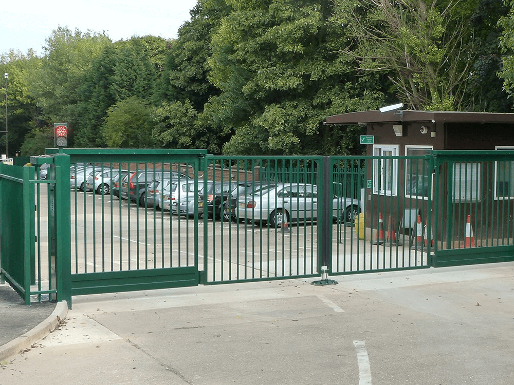 Automated Metal Sliding Gate
