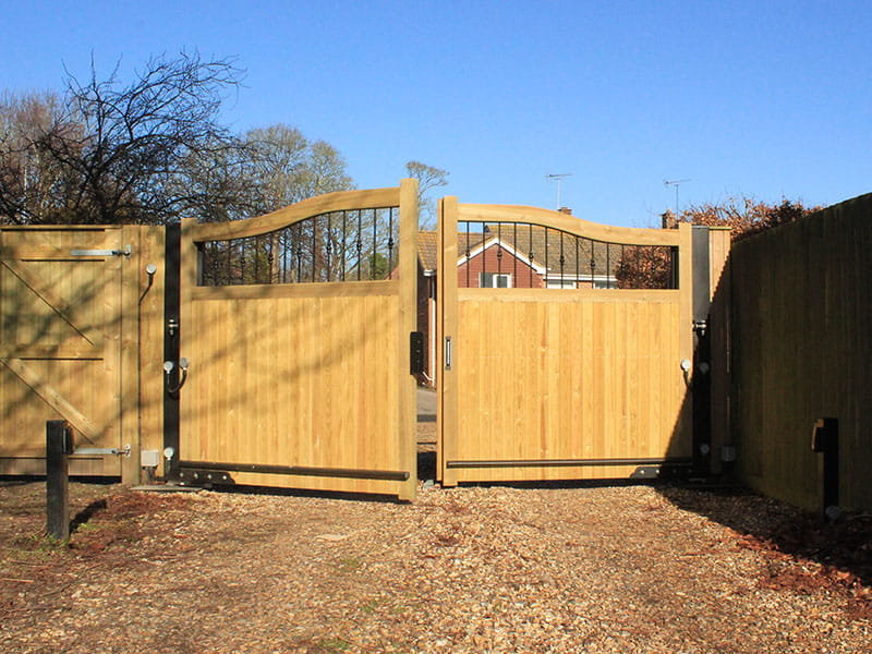 Automated Timber Gate