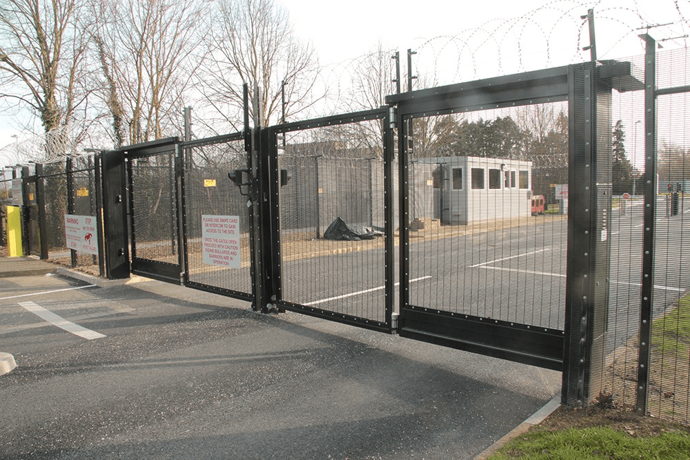 High Security Double Leaf Gate