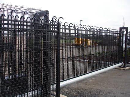 Jacksons Fencing security gates