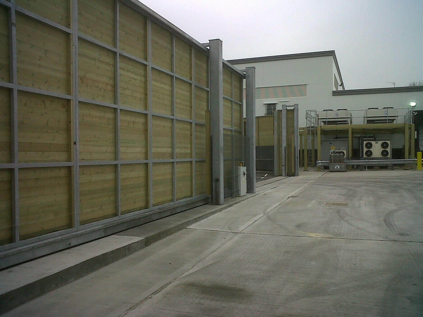 Acoustic Sliding Gate