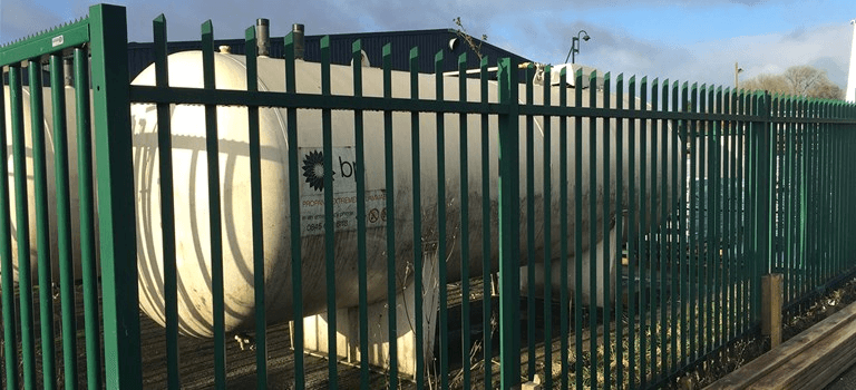 Oil Tank Security Compound