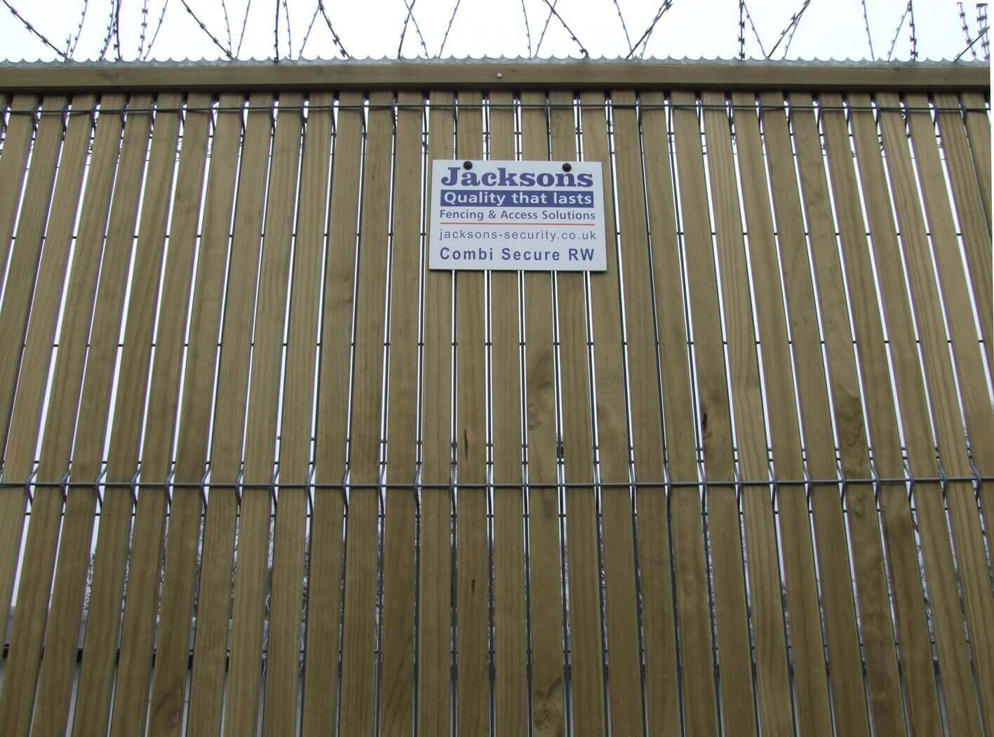 Trident Combi 2 - High Security Fencing