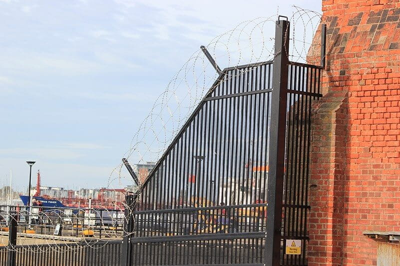 Marine Coated Trident 3XM Fencing