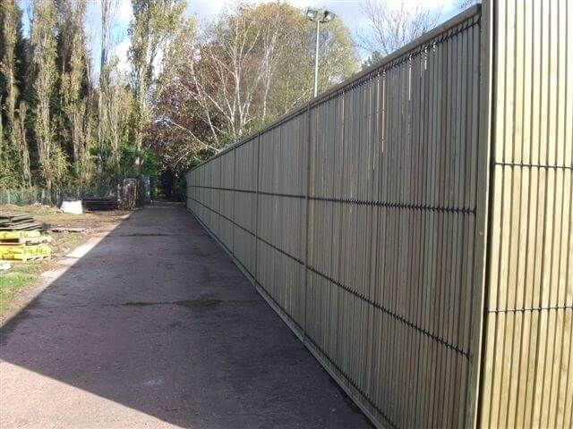 EuroGuard Combi SR1 security fencing