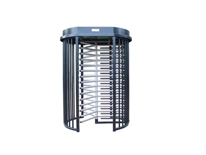 Full height pedestrian turnstile