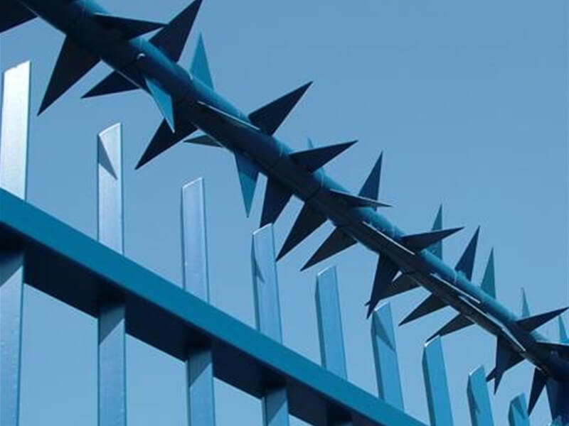Rota Spike on Barbican Fence _ Fence Spikes