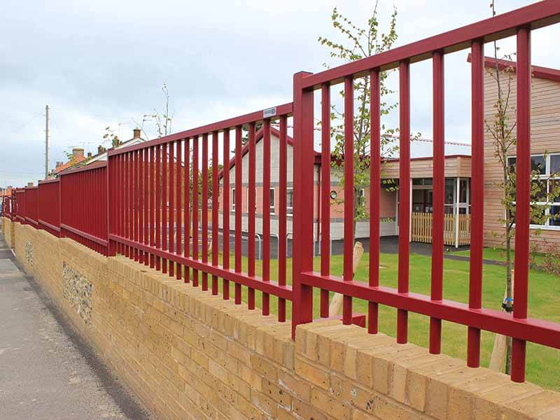 Sentry metal Wall Railings