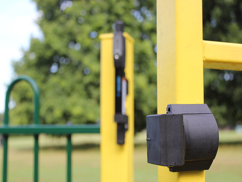 playground gate lock