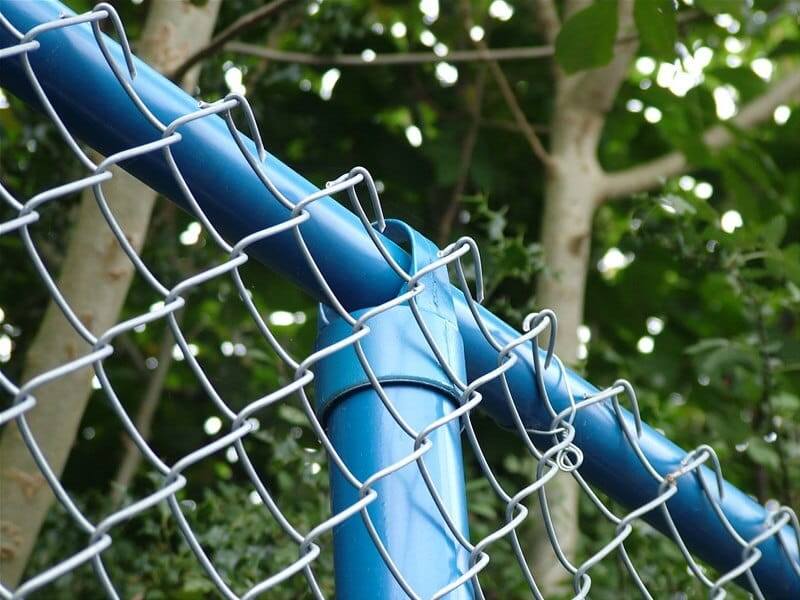 Tubular Chain Link Fencing Top Rail