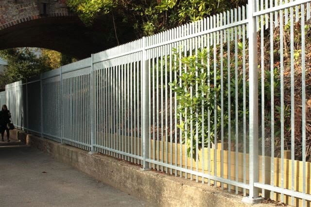 Barbican Extra Vertical Bar Steel Security Fencing