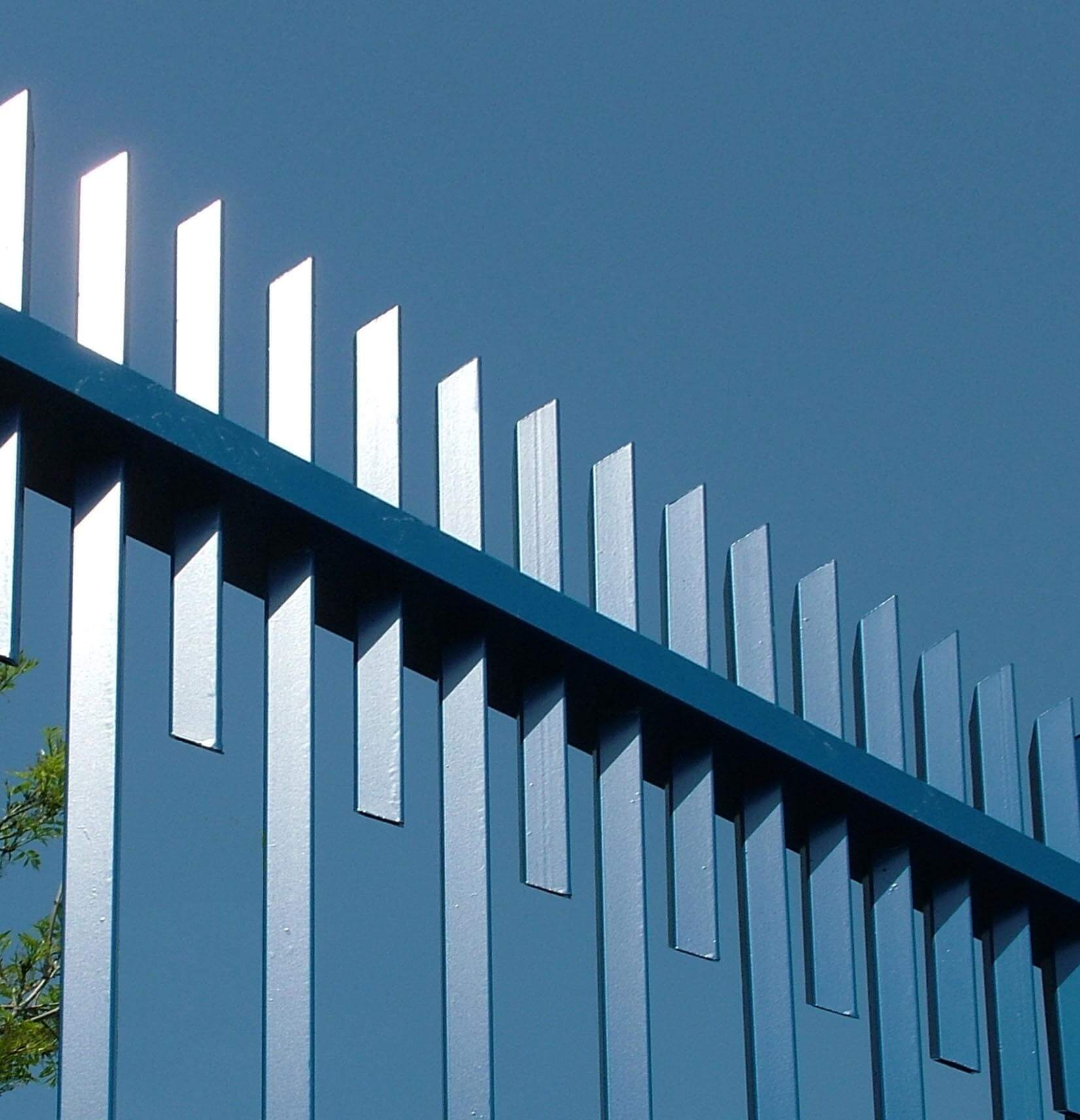 Barbican Extra Security Fencing Blue