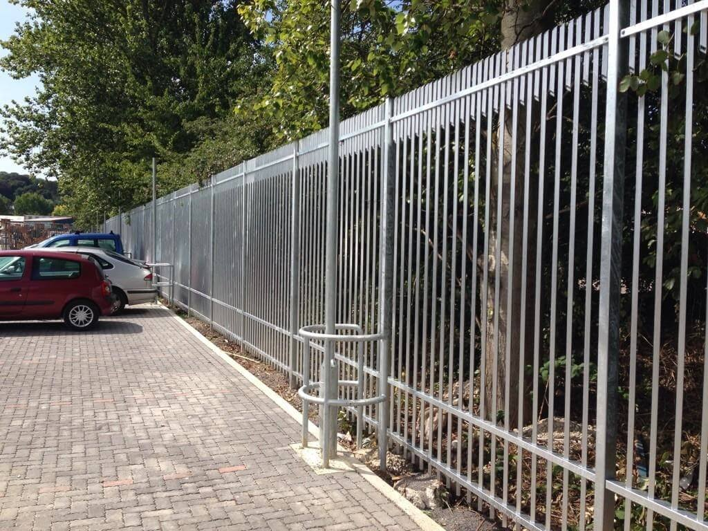 Barbican Extra Security Fencing with Galvanised Finish