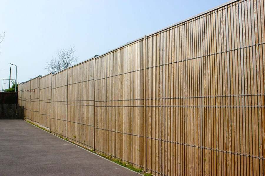 Euroguard Combi Timber and Steel combination fence