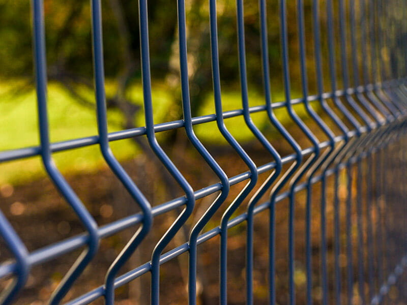 EuroGuard Regular V Mesh Fence Detail