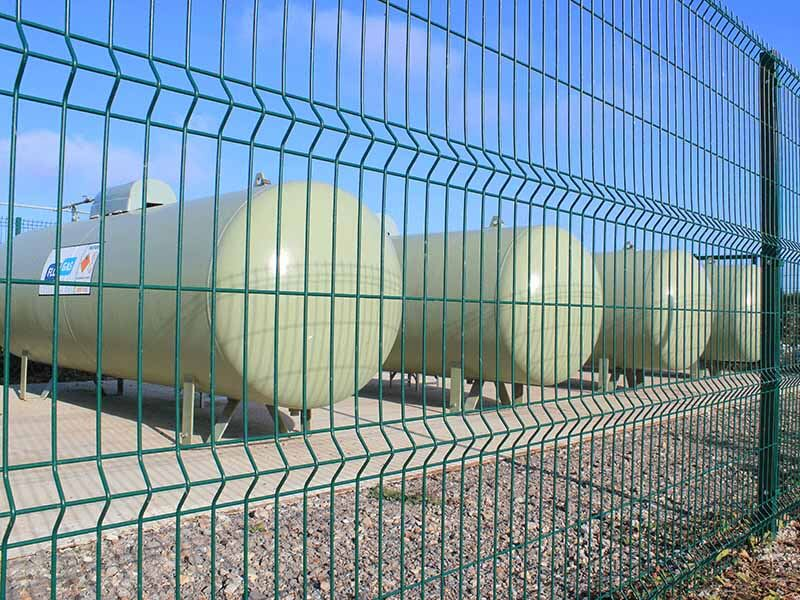 Euroguard Regular V Mesh Security Fence