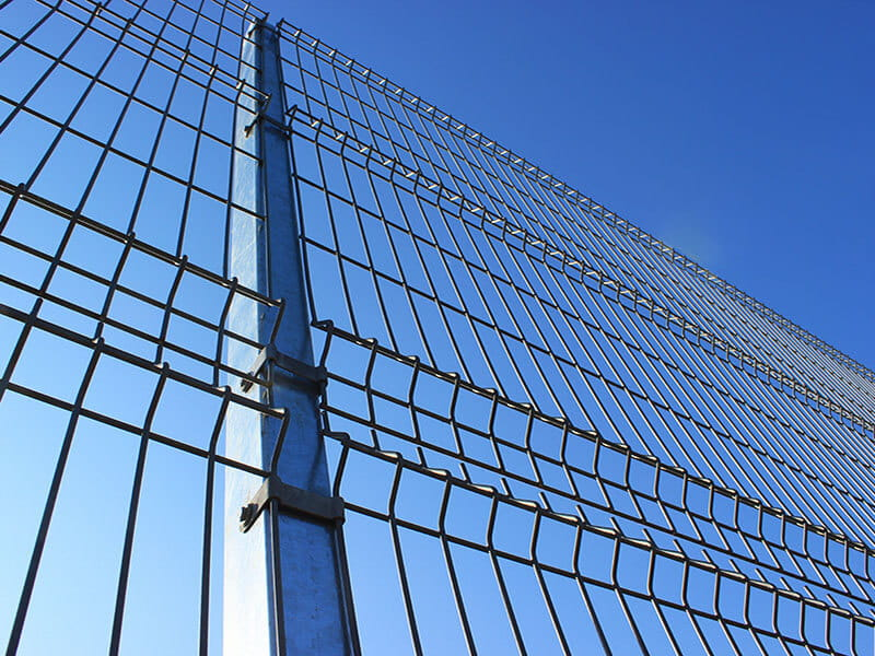 Galvanised EuroGuard® Regular Welded Mesh Panel