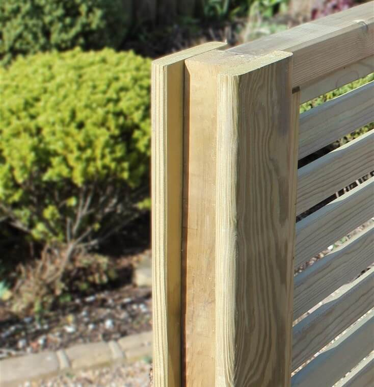 Intermediate Slotted Fence Posts