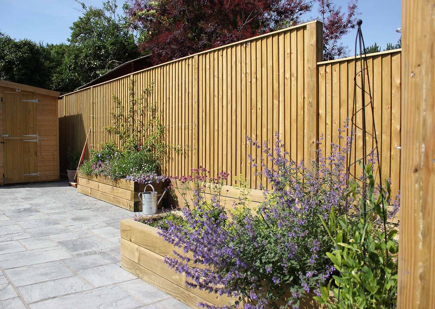 Featherboard Fencing Panels