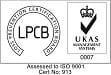 ISO 9001:2015 certified accreditation from BRE